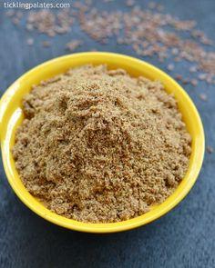 flax seeds podi