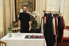 Matteo Brizio di Brizyo - Genova (GE) Il giovane stilista presenta la sua ultima collezione per conquistare i buyer londinesi.
