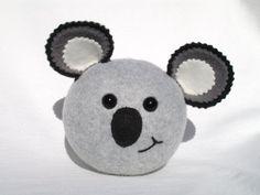 Koala plush ball toy.