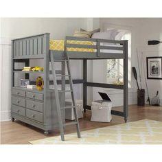 NE Kids Lake House Full Loft Bed - Bunk Beds & Loft Beds at Hayneedle