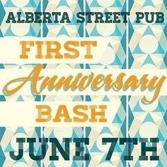 Beer festival on the patio, food, music...Queen Bee Events teamed up with Alberta Street Pub in Portland, OR this summer to help them celebrate their first anniversary. #pdx #queenbeevents