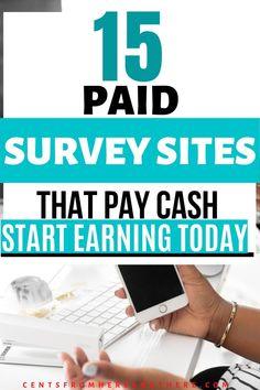 Legit Paid Surveys, Online Surveys That Pay, Surveys For Money, Earn Money Online, Student Survey, Student Jobs, Ways To Get Money, Legit Online Jobs, Survey Sites That Pay