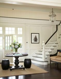 HomeSpirations~Dark Wood Flooring Decorating Ideas