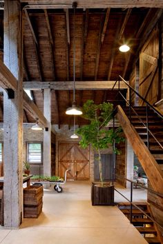LOVE the idea of doing this with the first floor of the. Barn as garage/workshop, second as main living and dining space with guest bed, and third as a master suite with office!