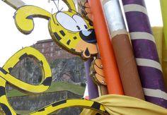 CARNAVAL de BELFORT 2016... Le Marsupilami et le Lion... Qui est l'intrus ?