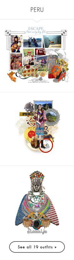 """PERU"" by texaspinkfox ❤ liked on Polyvore featuring Inca, Custoline, Serge Lutens, ASOS, Waylande Gregory, Cathy Waterman, Eva Hanusova, MINU Jewels, Fantasy Jewelry Box and Nautica"