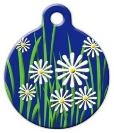 Daisy - Custom Pet ID Tag for Dogs and Cats - Dog Tag Art -- Click image for more details.