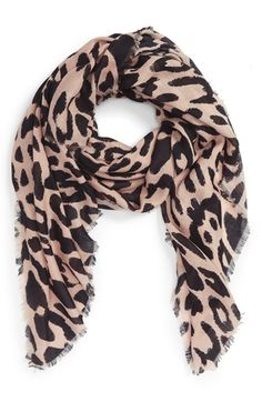 Free shipping and returns on BP. Leopard Print Scarf at Nordstrom.com. Soft fringe traces the edges of a lightweight scarf printed in a classic leopard pattern.