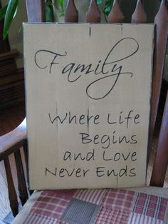 Let those visit see your love for your family with our Family wooden sign. This would compliment other country decor from Primitive Star Quilt Shop. Country Wood Signs, Love Wood Sign, Country Decor, Country Office, Prim Decor, Rustic Decor, Primitive Stars, Primitive Country, Primitive Stitchery