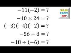 Multiplicación Y División De Números Enteros Resta De Numeros Enteros Numeros Enteros Suma Y Resta
