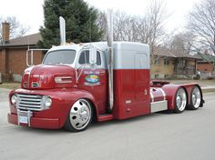 1950 Ford COE!  Tons of work, Tons of COOL!