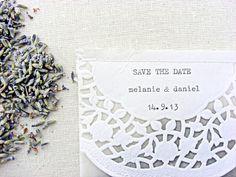 wedding confetti bags glassine bags dried lavender by SepiaSmiles, $2.50
