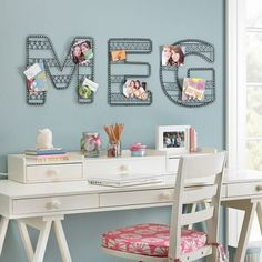 Cute wall decor. DIY inspiration?
