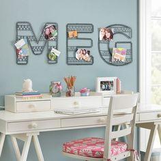 Cute wall decor. DIY inspiration?