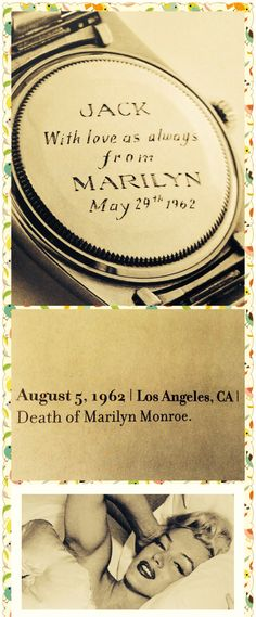 Marilyn's last gift before she passed away.