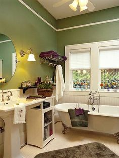 Lovely design for a bathroom
