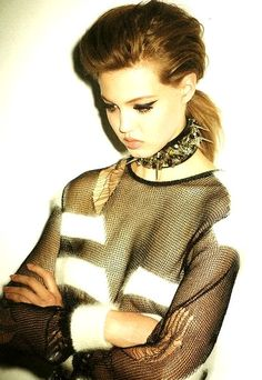 Lindsey Wixson by by Ezra Petronio for Self Service Fall 2013
