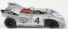 AUTOART 87181 Scale 1/18  PORSCHE 908/03 N 4 MARTINI RACING TEAM NURBURGRING 1971 MARKO - V.LENNEP SILVER