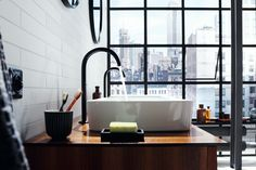 AXOR's fixtures never disappoint, and the same holds true for their latest minimal bathroom collection – AXOR One.