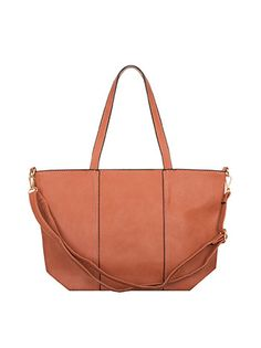 Shoulder bag with decorative seams peach Shoulder Bag, Bags, Fashion, Purses, Moda, Fashion Styles, Shoulder Bags, Taschen, Totes