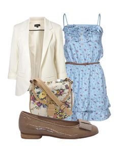 Summer outfit with Gabor shoes