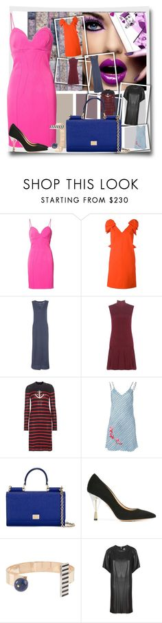 """""""Spring/Summer Trendsetters!!"""" by stylediva20 ❤ liked on Polyvore featuring ZAC Zac Posen, MSGM, Velvet, Alice + Olivia, Étoile Isabel Marant, Carven, Dolce&Gabbana, Charlotte Olympia and URiBE"""
