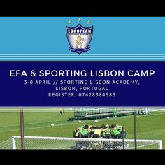Book your place for EFA's International Camp in the Sporting Lisbon Academy now: call 07428384583!  You can sign in even If you're not an Academy Player. [Limited places available] #EFAgoestoLisbon #WeAreEFA #TeamEFA #YouthFootballLondon #FootballLondon #FootballTraining #FootballAcademyLondon #YouthFootball #Football