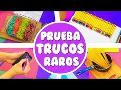 PROBANDO TRUCOS RAROS DE PINTEREST | DIYS - YouTube