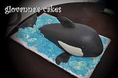 giovanna's cakes: shamu whale cake