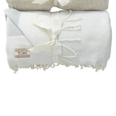 """TOMS for Target Acrylic fringe throw Grey 50""""x60"""""""