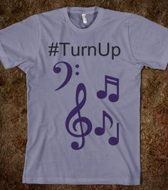 Turn Up Tee By Poetry Lobby - Poetry Lobby - Skreened T-shirts, Organic Shirts, Hoodies, Kids Tees, Baby One-Pieces and Tote Bags