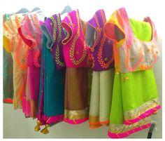 saris...love the colours