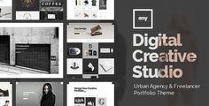 Any - Urban Agency & Freelancer Portfolio Theme by Edge-Themes. Price $59