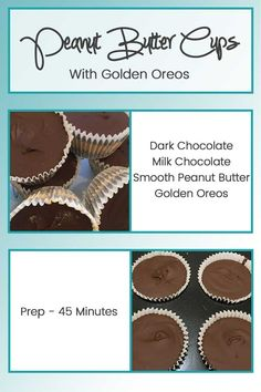 I got my inspiration for this recipe from Reeces Peanut Butter Cups and wanted…