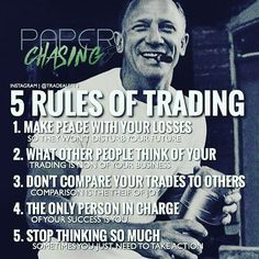 The rules of trading......