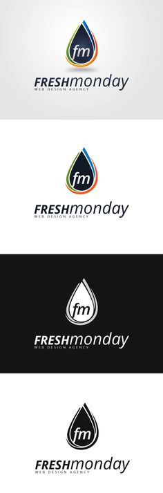 Logo Design for FreshMonday, a web design agency.   ~ View the full project on Behance. ~