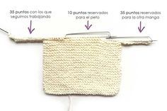 Learn how to Make this Knitted Baby Sweater made with GARTER stitch. FREE Step by Step Pattern & Tutorial. Baby Knitting Patterns, Baby Cardigan Knitting Pattern Free, Baby Sweater Patterns, Baby Boy Knitting, Crochet Baby Cardigan, Knit Baby Sweaters, Crochet Beanie Pattern, Knitting For Kids, Easy Knitting