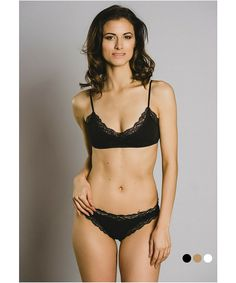 381924142dbcb Ethical Lingerie - Organic Cotton Bralette is sexy and cozy.