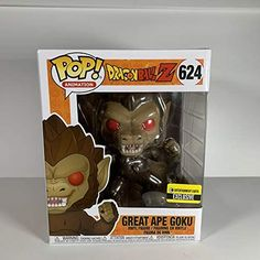 Why wait until the moon is full to increase your Saiyan strength to its fullest? Instead, add this incredible Dragon Ball Great Ape Goku 6-Inch Pop! Vinyl Figure to your collection! Standing about 6-inches tall, Goku will look like a giant next to your other Dragon Ball Pop! Vinyl figures, and he comes packaged in … Read more