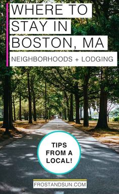 I've lived in Boston for 15 years and counting. Here are my best tips on where to stay in Boston, from neighborhoods to hotels. New England Usa, New England Travel, Boston Neighborhoods, Boston Travel Guide, Boston Vacation, Living In Boston, Boston Common, Boston Things To Do, Road Trip Destinations