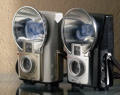 Pair of Kodak Brownie Starflash Cameras by Casual Camera Collector, via Flickr
