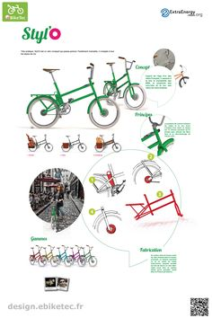 eBikeTec design contest public voting project: Styl'O name: Chemana/ Papon