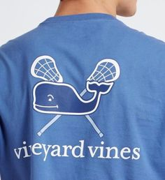 Shop Preppy Men's Clothing, Women's Clothing and Children's Clothing at vineyard vines Lacrosse-Wal-Grafik-T-Shirt Preppy Outfits, Sport Outfits, Summer Outfits, Cute Outfits, Graphic T Shirts, Graphic Sweatshirt, Preppy Men, T Shirts With Sayings, Sports Shirts