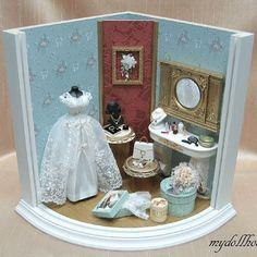 2012, Miniature Wedding dress♡ ♡ My Dollhouse