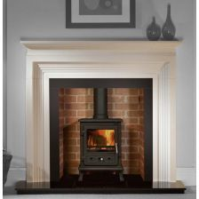 mantelpiece for wood burning stove - Google Search