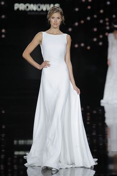 Vestidos de noiva 2017 minimalista