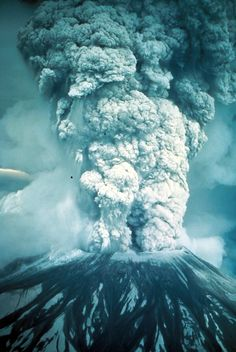 Mt. St. Helens May 18th,1980. I was outside that Sunday morning when it happened and didn't think nothing of it until it started to get dark at 11am and then totally dark at noon. Then the ash fell... 3 1/2 to 4 inches all over the place.