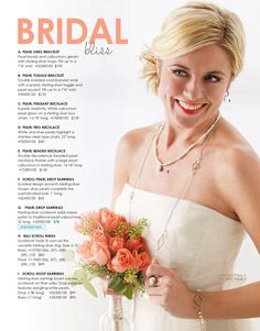 Bridal bliss: Freshwater pearls in the Bali Scroll Collection from Willow House Jewelry by Sara Blaine