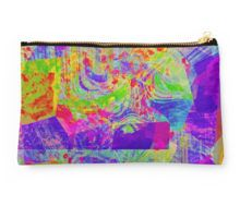 Studio Pouch AllOver is a pretty abstract design in wonderful bright colors.
