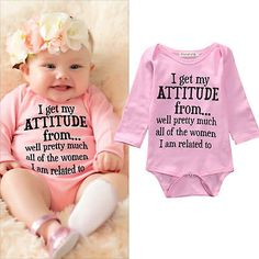 Cotton Toddler Infant Baby Girls Bodysuit Romper Jumpsuit Clothes Outfits 0-18M